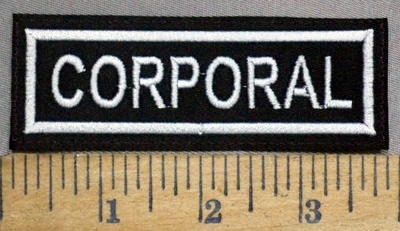 4871 L - Corporal - Embroidery Patch
