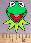 4893 C - Kermit The Frog - Embroidery Patch