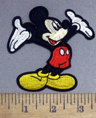 4898 C - Hey Mickey Mouse - Embroidery Patch