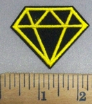 4899 C - Golden Diamond - Embroidery Patch