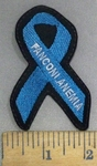 4901 l - Fanconi Anemia Ribbon - Embroidery Patch
