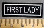 4905 L - First Lady  - Embroidery Patch
