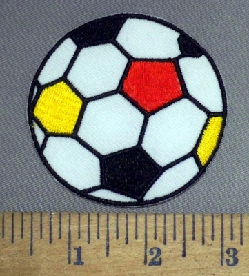 4910 C - Soccer Ball - Embroidery Patch