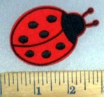 4917 C - Lady Bug - Embroidery Patch