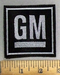 4931 L - GM Logo - Embroidery Patch