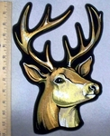 4939 G - Buck - Deer - Back Patch - Embroidery Patch
