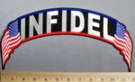 4940 CP - Infidel - American Flag - Embroidery Patch