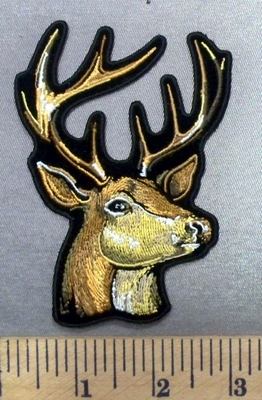 4957 G - Buck - Deer - Embroidery Patch