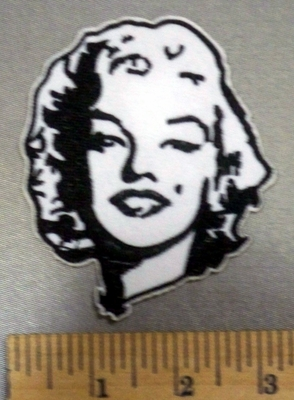 4993 C - Marilyn Monroe - Embroidery Patch