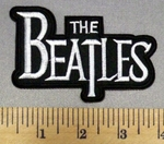 4997 C - The Beatles Logo - Embroidery Patch