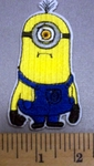 5007 C - Frowning Minion - Embroidery Patch