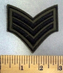 5026 C - Army Stripes - Embroidery Patch