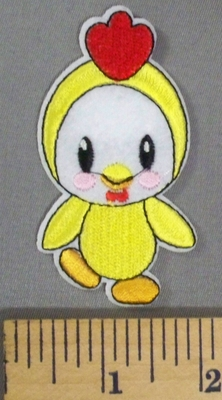 5044 C - Cartoon Style Baby Chick - Embroidery Patch