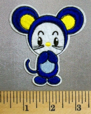 5045 C - Cartoon Style Baby Mouse - Embroidery Patch