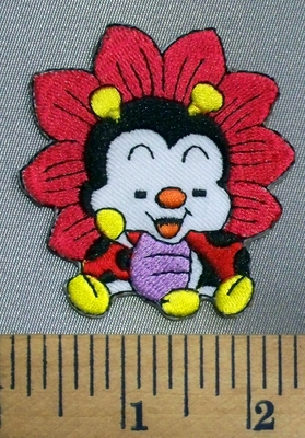 5050 C - Cartoon Style Lady Bug - Embroidery Patch