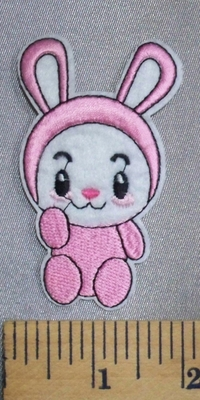 5051 C - Cartoon Style Baby Rabbit - Embroidery Patch