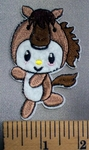 5054 C - Cartoon Style Baby Pony - Embroidery Patch