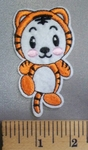 5064 C - Cartoon Style Baby Tiger - Embroidery Patch