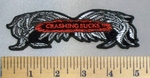 5068 CP - Crashing Sucks - Broken Wings - Embroidery Patch