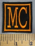 5070 L - MC - Orange - Embroidery Patch