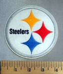 5074 C - 4 Inch Pittsburgh Steelers - Embroidery Patch