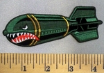 5079 G - Shark Bomb - Embroidery Patch