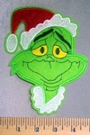 5080 C - The Grinch - Embroidery Patch