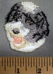 5091 C - Sheepdog - Embroidery Patch