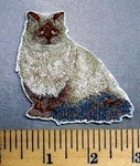 5092 C - Fluffy Cat - Embroidery Patch
