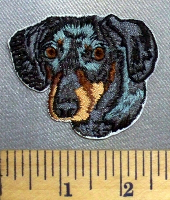 5093 C - Dachshund - Embroidery Patch