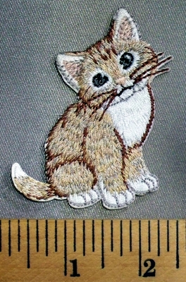 5094 C - Kitten - Embroidery Patch