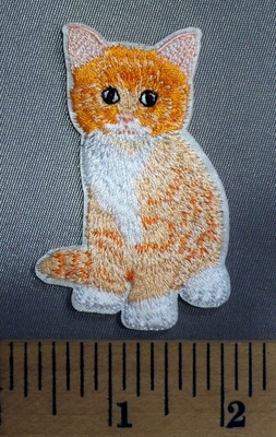 5096 C - Tiger Kitten - Embroidery Patch