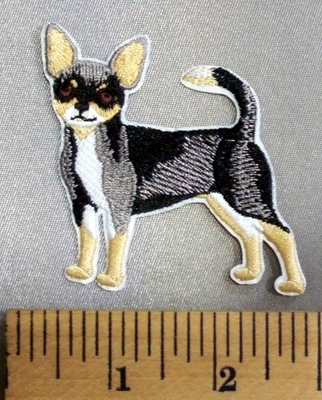 5097 C - Chihuahua - Embroidery Patch