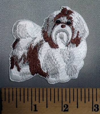 5099 C - Shih Tzu Dog - Embroidery Patch