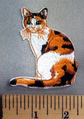 5101 C - Calico Cat - Embroidery Patch