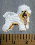 5102 C - Poodle - Embroidery Patch