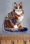 5104 C - Cat - Embroidery Patch