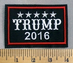 5112 L - Trump 2016 - Embroidery Patch