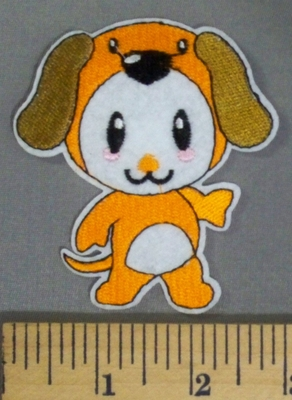5147 C -Cartoon Style Puppy - Embroidery Patch