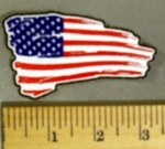 5179 CP - Tattered American Flag - Embroidery Patch