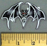 5193 N - Bat - Embroidery Patch
