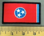 5194 S - Tennessee State Flag - Embroidery Patch