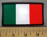 5200 S - Italy Flag - Embroidery Patch