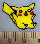 5204 C - Pokemon Character - Pikachu - Embroidery Patch