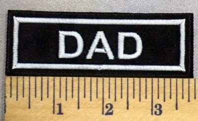 5214 L - Dad - Embroidery Patch