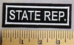 5225 L - State Rep. - Embroidery Patch