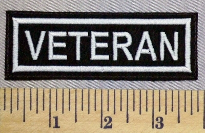 5237 L - Veteran - Embroidery Patch