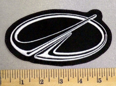 5258 L - Oldsmobile Logo - 5 Inch - Embroidery Patch