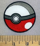 5264 C - Pokemon Ball - Embroidery Patch