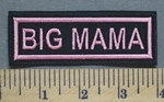 5291 L - Big Mama - Embroidery Patch